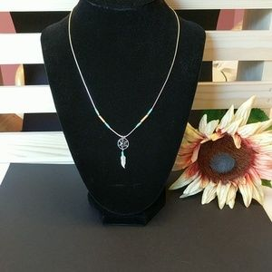 Sterling Silver Dream Catcher Necklace
